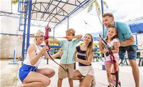 Веселье с семьей в Pacific Islands Club гуам, Тумон