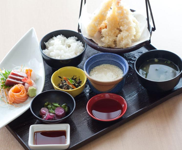 Традиционный Японский обед в Pacific Islands Club Гуам, Тумон