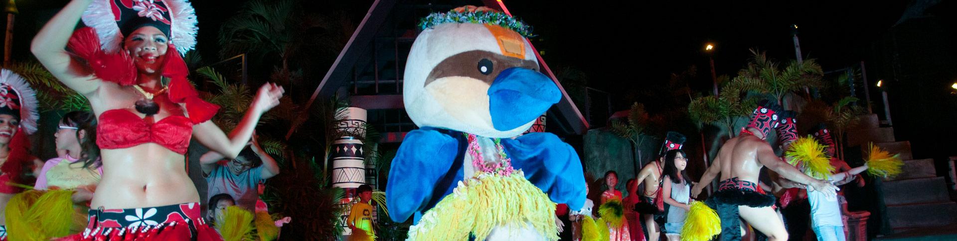 Тумон, Насладитесь семейным отдыхом с Шеки в Pacific Islands Club Гуам