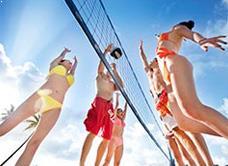 Пляжный волейбол в Pacificl Islands Clubs