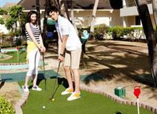 Мини-гольф в Pacificl Islands Clubs