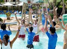 Водный баскетбол в Pacific Island Clubs