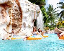 Захватывающие Водный парк и бассейн с волной в Pacific Islands Club на Сайпане